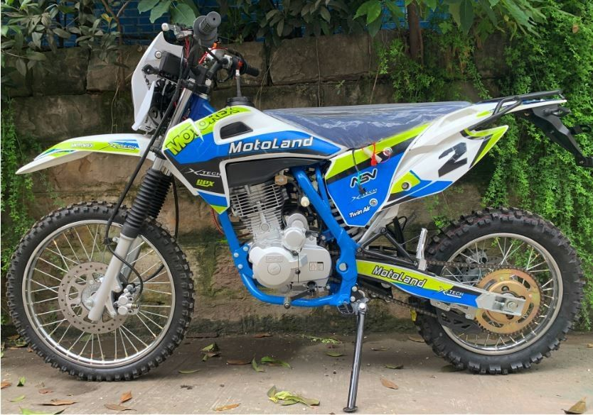 White Color 200cc Off Road Bikes